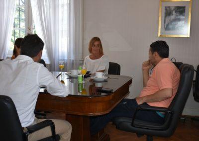 La fundación Banco Provincia visitó Merlo