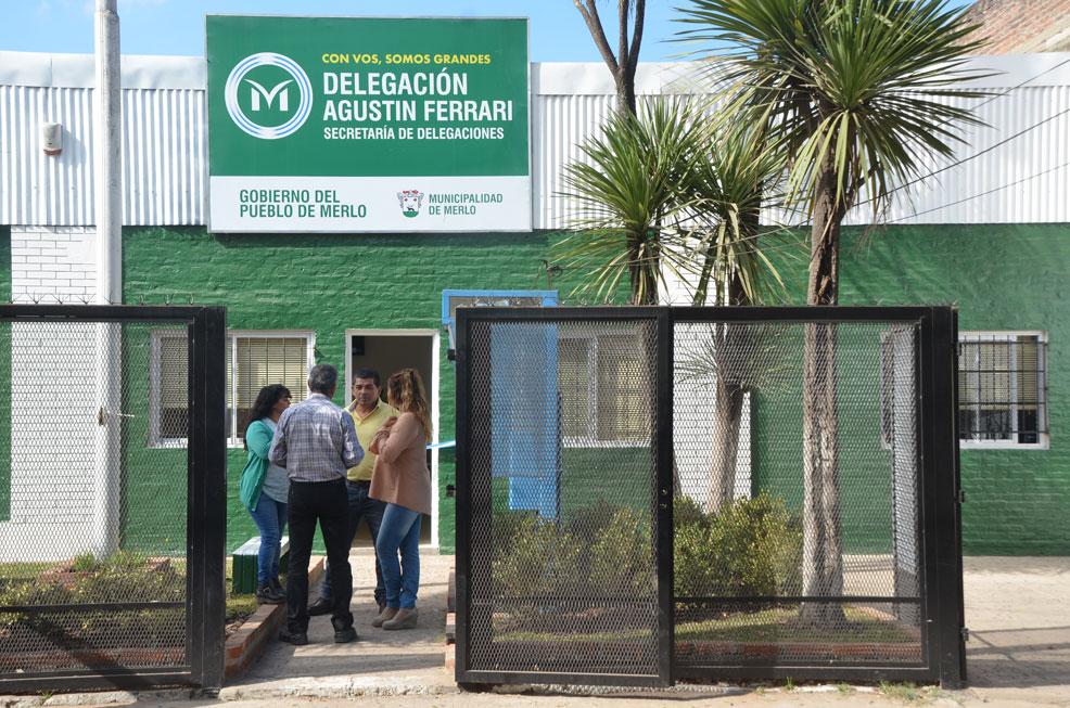 MEJORAN LAS PRESTACIONES DE LA DELEGACIÓN DE AGUSTÍN FERRARI