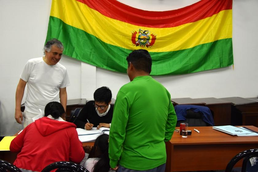 CONSULADO ITINERANTE EN EL HCD: ESTADO PLURINACIONAL DE BOLIVIA