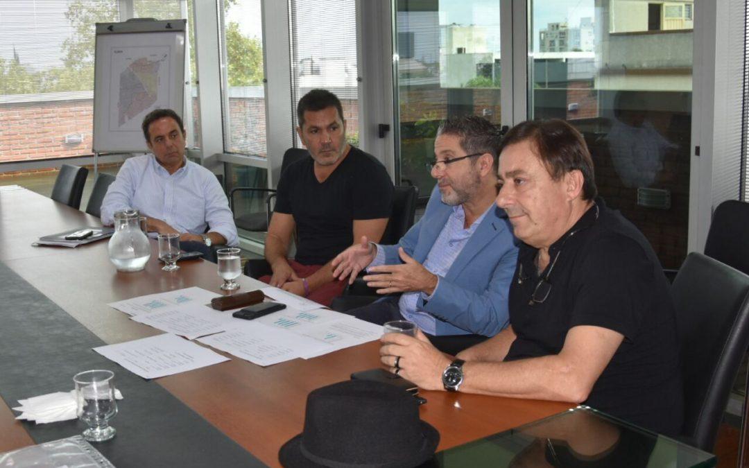 REUNIÓN DE ZOONOSIS CON AUTORIDADES DE MERLO E ITUZAINGO