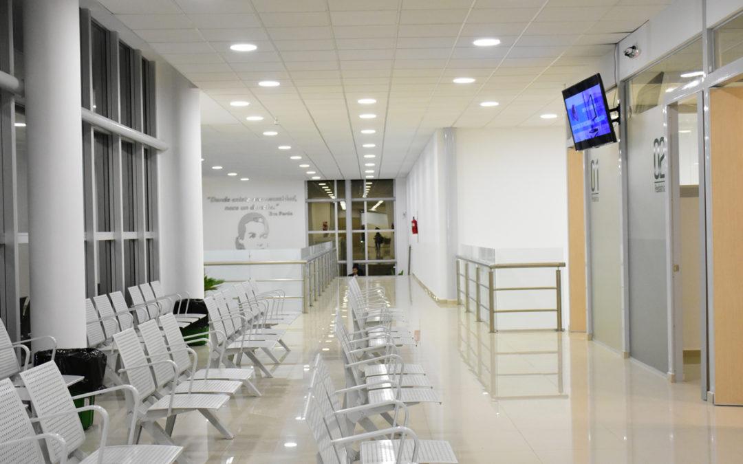 SE INAUGURÓ LA NUEVA GUARDIA DEL HOSPITAL EVA PERÓN