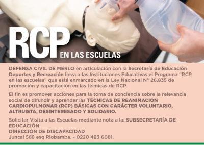 RCP en las Escuelas