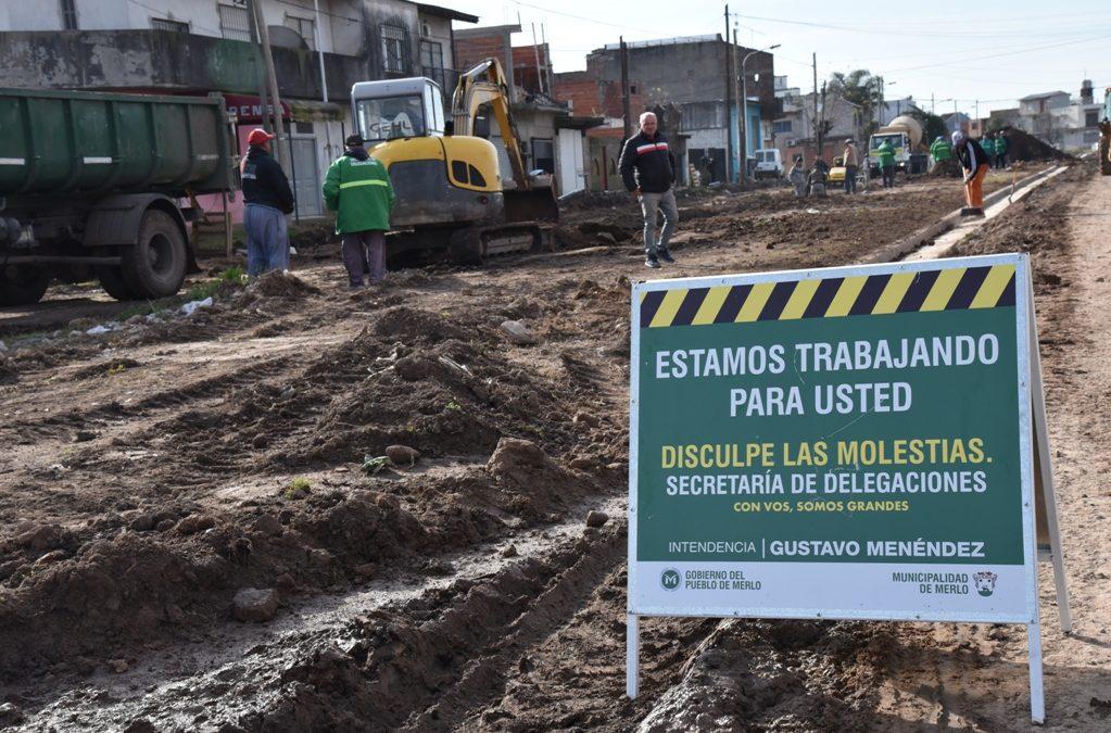 OBRAS PARA BARRIO EL CORTIJO