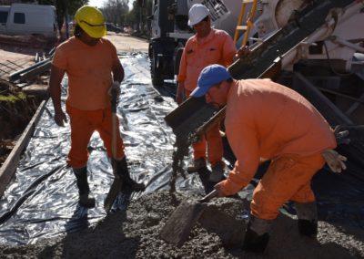 Obra hidráulica calle San Lorenzo (2)