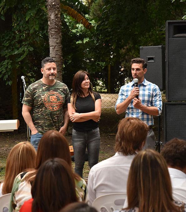 BRINDIS DE LA COMUNIDAD EDUCATIVA DE MERLO