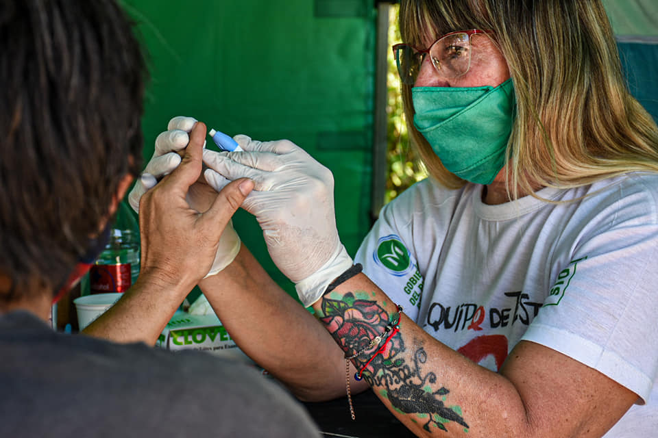 TESTEO DE VIH EN MARIANO ACOSTA