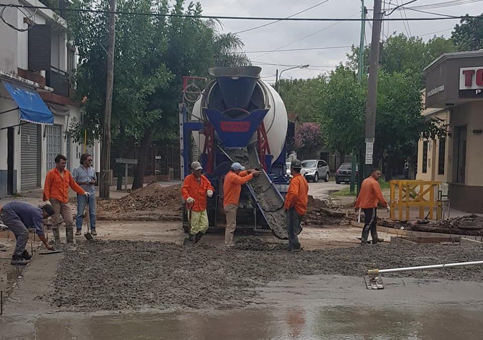 RECONSTRUCCIÓN Y REPAVIMENTACIÓN EN SAN ANTONIO DE PADUA