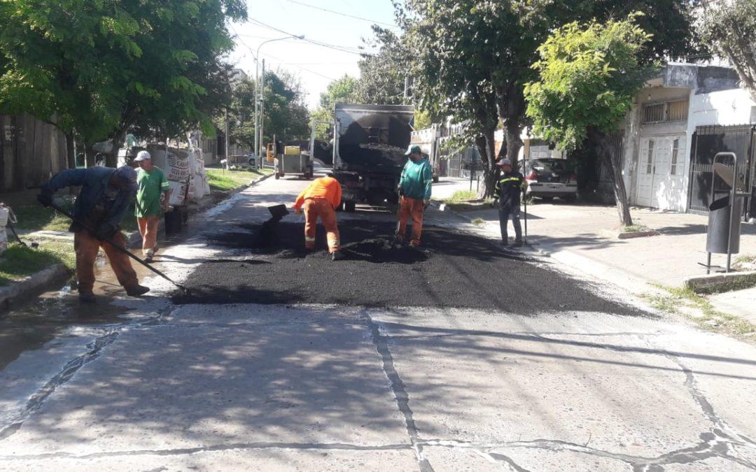 TAREAS DE BACHEO Y RECUPERACIÓN DE PAVIMENTOS