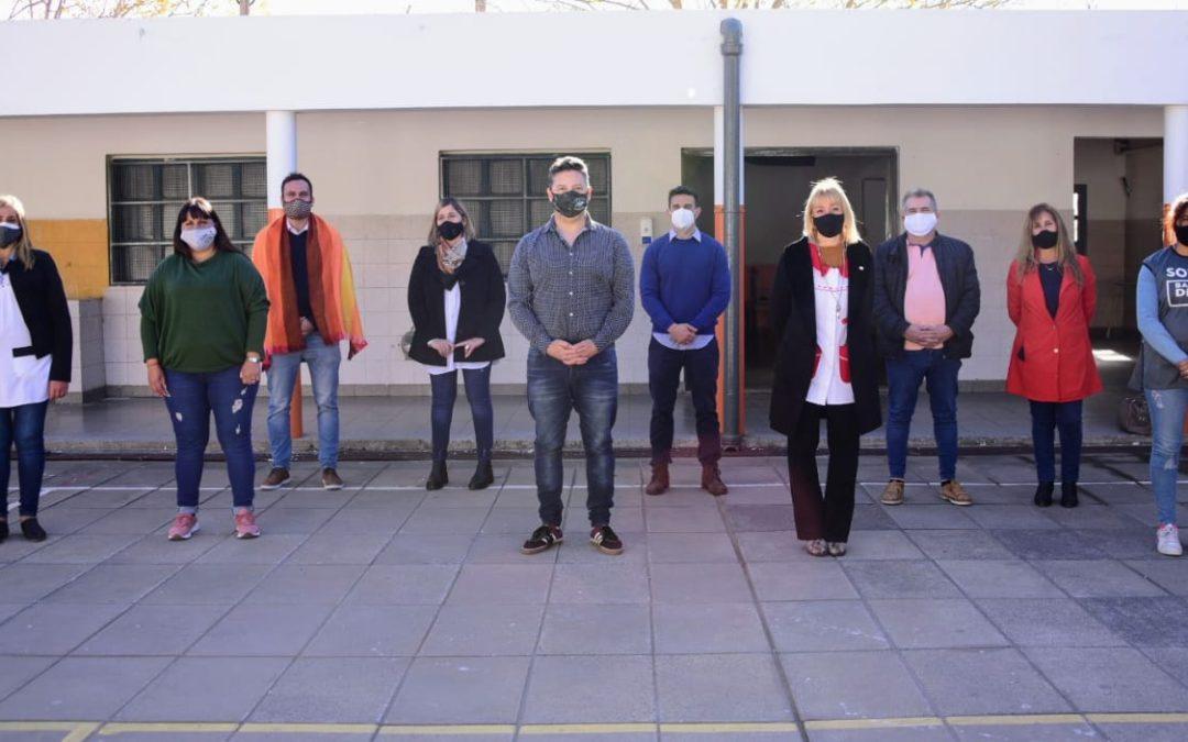 OBRAS FINALIZADAS EN LA EP Nº 11 DE PARQUE SAN MARTÍN