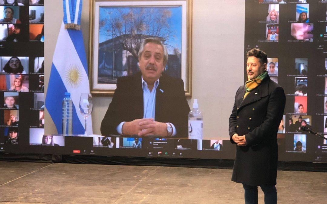 MILES DE NIÑOS Y NIÑAS DE MERLO PROMETIERON LEALTAD A LA BANDERA