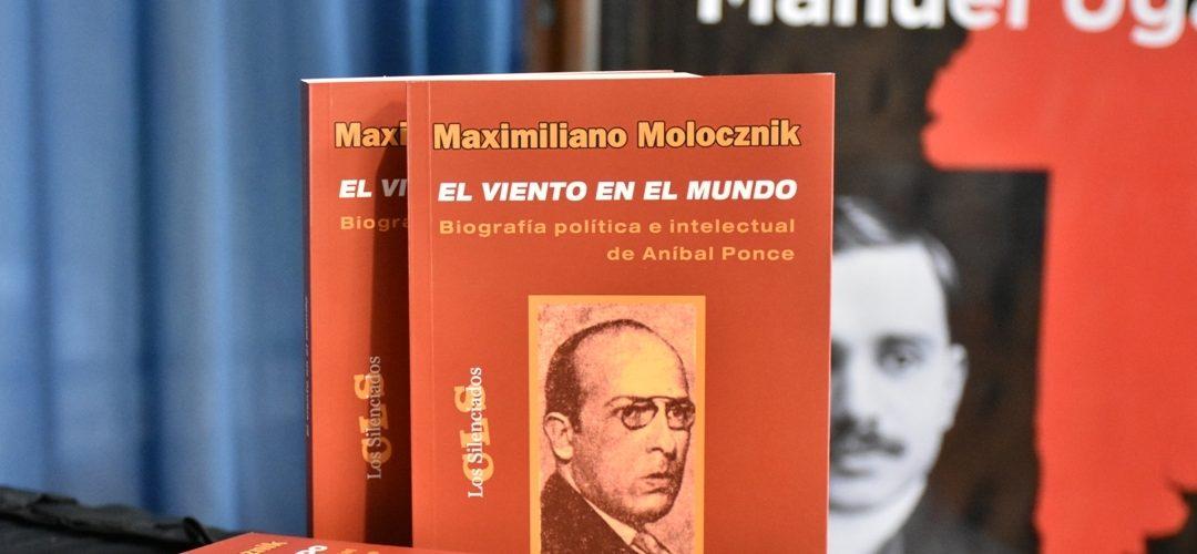 Presentación del nuevo libro de Maximiliano Molocznik