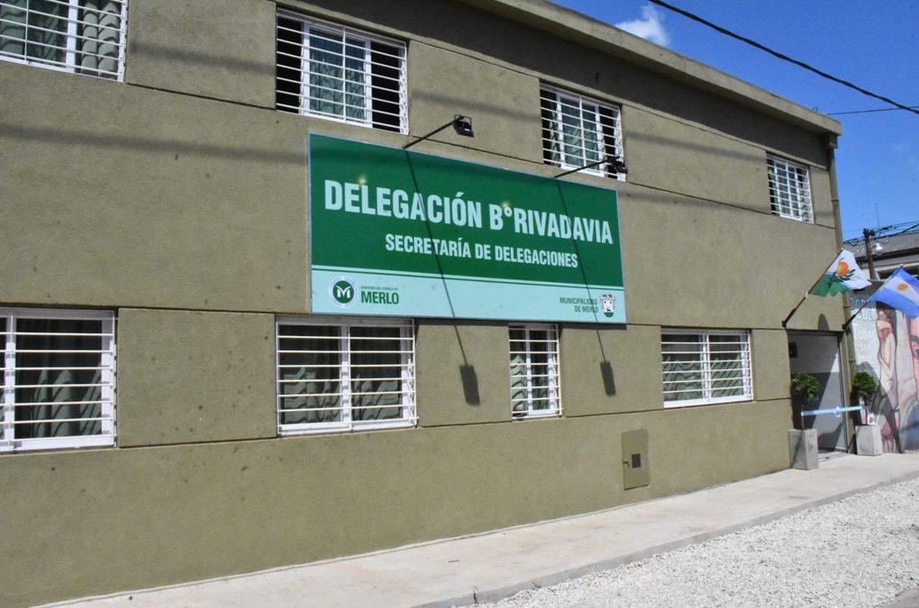 SE INAUGURÓ LA NUEVA DELEGACIÓN DE BARRIO RIVADAVIA