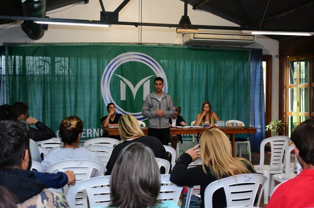 REUNIÓN INFORMATIVA DE LOS JUEGOS BONAERENSES E INTERESCOLARES