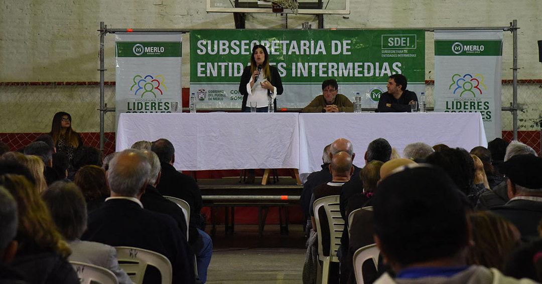 SE LANZÓ EL PROGRAMA «LÍDERES SOCIALES 2»