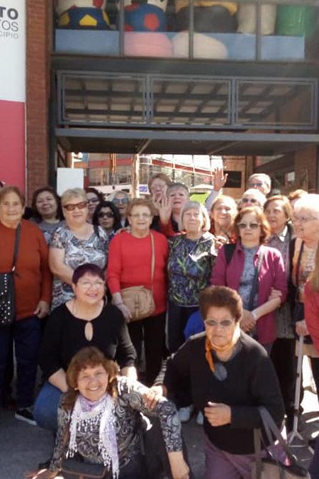 EL COLECTIVO VIAJERO DE ADULTOS MAYORES SIGUE EN MARCHA