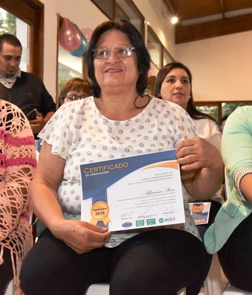 LOS ALUMNOS DEL CURSO DE JARDINERÍA RECIBIERON SUS CERTIFICACIONES