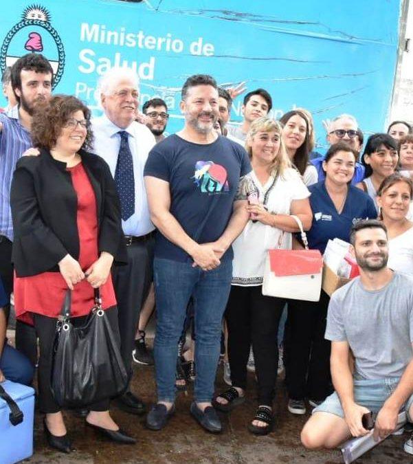 MENÉNDEZ RECIBIÓ A LOS MINISTROS DE SALUD