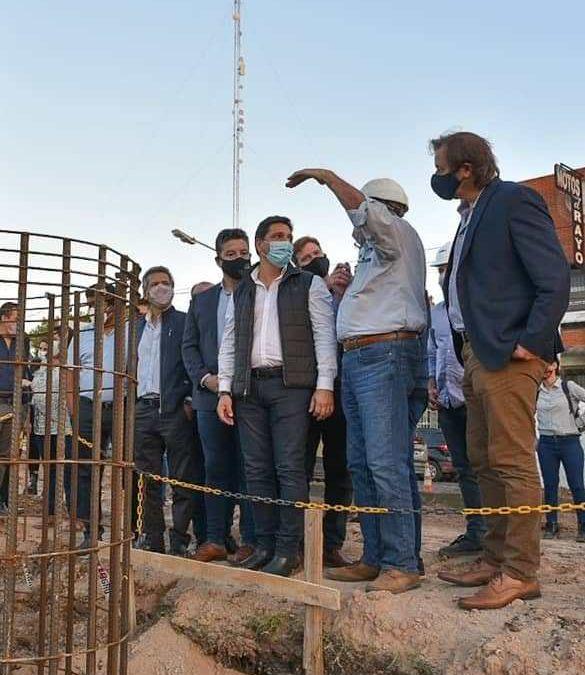 INICIÓ LA CONSTRUCCIÓN DEL NUEVO PUENTE EN SAN ANTONIO DE PADUA