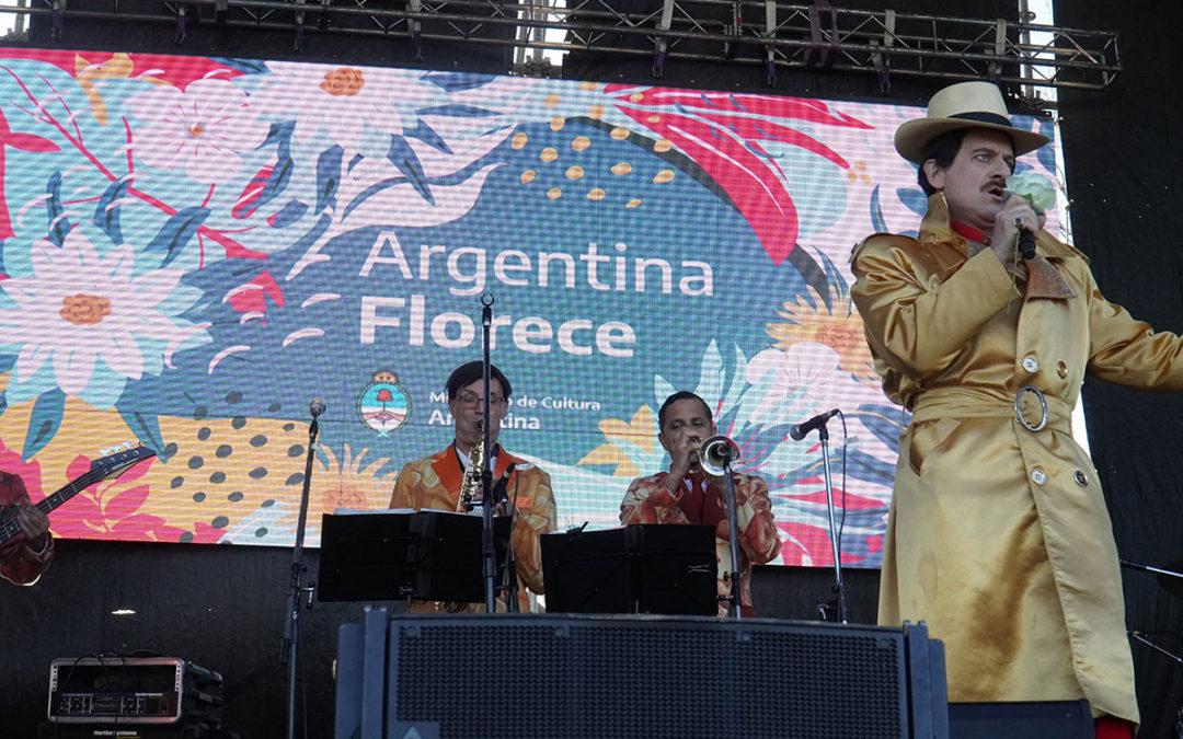 «ARGENTINA FLORECE» SE REALIZÓ EN MERLO